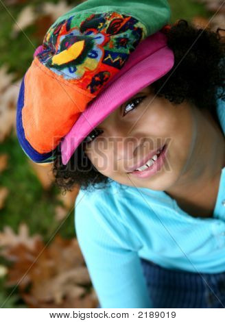 Girl In The Funky Hat