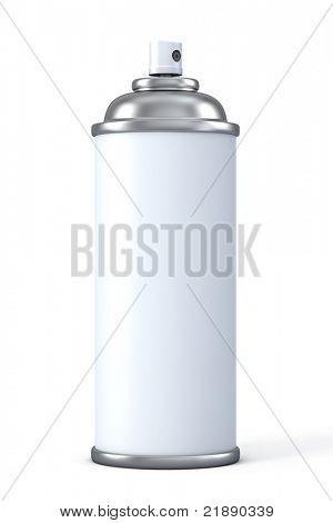 Aluminum spray can