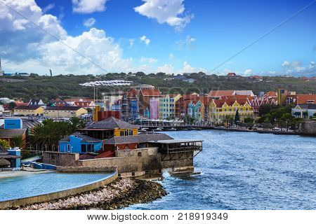 A Luxury Resort at Colorful Willemsted Curacao