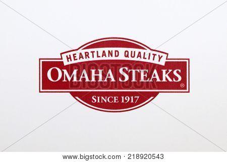 LOS ANGELES - DEC 18:  Omaha Steaks Emblem at the
