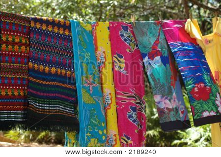 Colorful Clothesline
