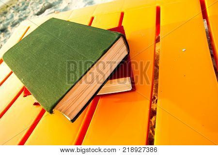 Book On The Beach. Back To School