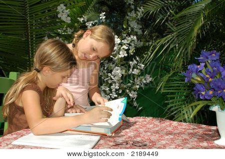 Children Doing Homework 2