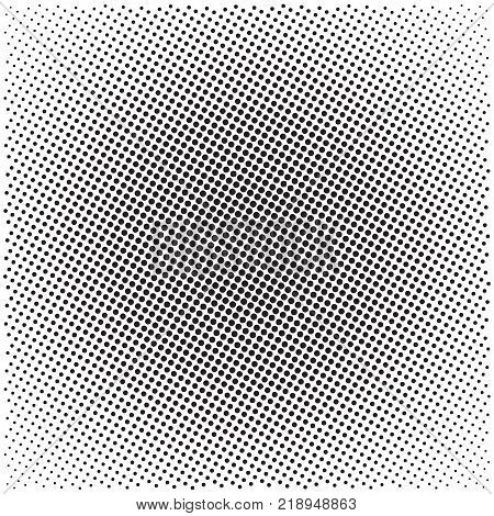 Halftone pattern background universal vector pattern halftone dots on white background screen print texture monochrome geometric texture with repeated dots of different sizes