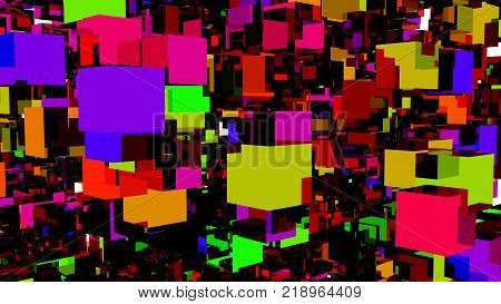multi colored blocks back ground back drop