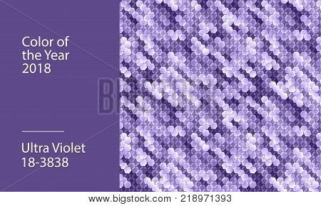 Ultra violet abstract background. Vector template for presentation