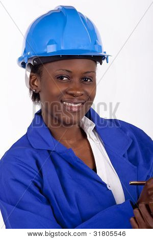 South African career woman
