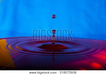 Colorful Paint Splash Stock Photo, Abstract Background, Color Of Life