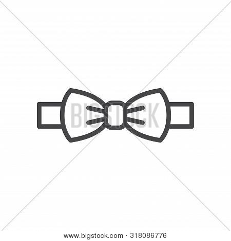Bow Tie Icon Isolated On White Background. Bow Tie Icon In Trendy Design Style For Web Site And Mobi