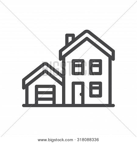 House Icon Isolated On White Background. House Icon In Trendy Design Style For Web Site And Mobile A