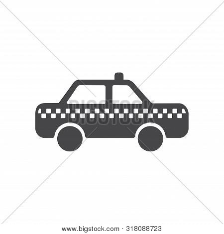 Taxi Urban Icon Isolated On White Background. Taxi Urban Icon In Trendy Design Style For Web Site An