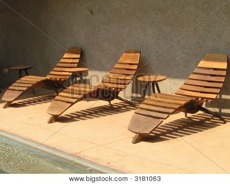 Three Deck Chairs