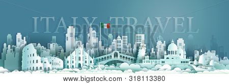 Travel Italy Europe Architecture Famous Landmarks By Gondola And Sailboat, Tourism Venice Popular La