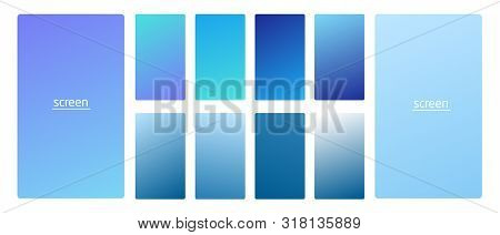 Vibrant And Smooth Gradient Soft Light Blue Sky Clouds Colors For Devices, Pc And Modern Smartphone
