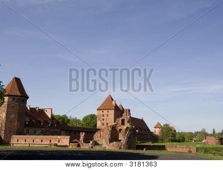 Castle In Malbork