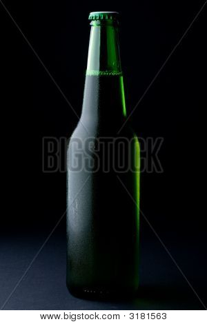 The Misted Over Bottle Of Beer