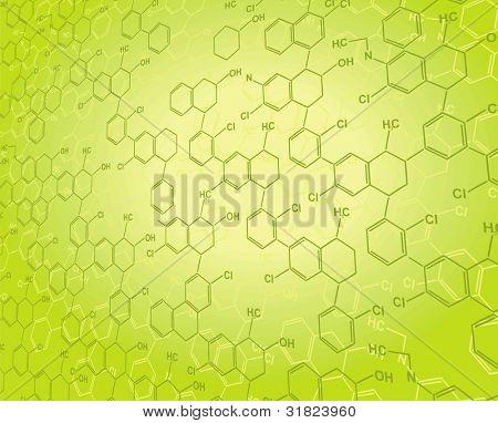 Vector Nanotechnology blue backgrounds