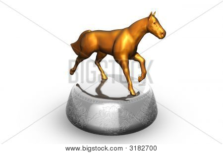 Statuette Of Horse