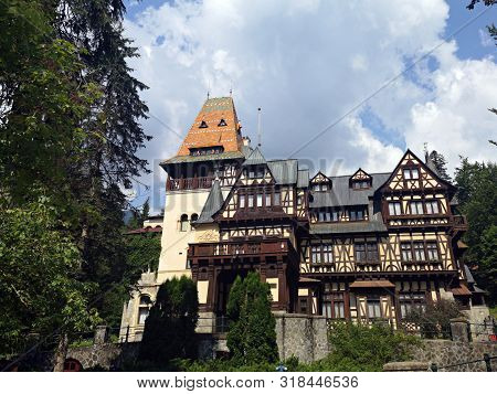 Pelisor Castle Romanian: Castelul Pelisor is a castle in Sinaia, Romania, part of the same complex as the larger castle of Peles The castle was built in 1899-1902 by order of King Carol I, as the residence for his nephew and heir, the future King Ferdinan poster