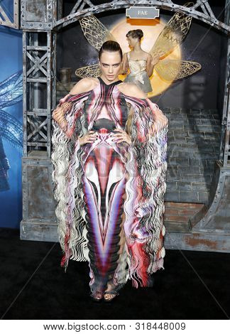 Cara Delevingne at the Los Angeles premiere of Amazon's 'Carnival Row' held at the TCL Chinese Theatre in Hollywood, USA on August 21, 2019.