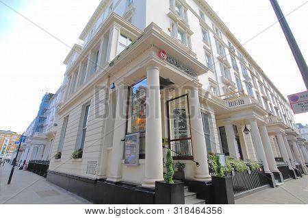 London England - June 3, 2019: Genting Casino South Kensington London Uk