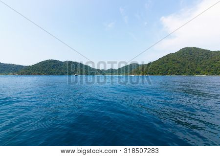 Travel Thailand - Surin Islands As A Tourist Destination Featured In The Beauty Under The Sea. The D