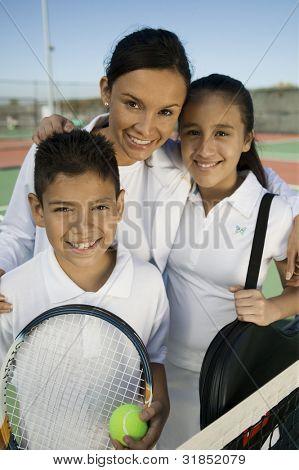 Tennis Family