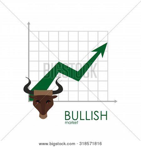 Bullish Business Graph. Grow Up Red Arrow. Bullish Schedule. Players On Exchange. Bulls And Bears Tr