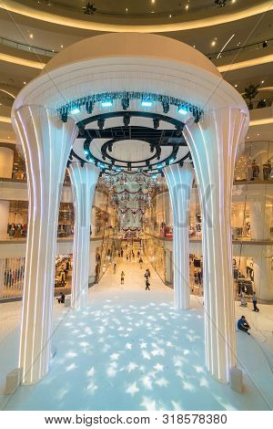 Bangkok, Thailand - November 2018 : Iconsiam Department Store Which Have Many Shopping Store On Nove