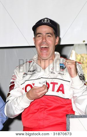 LOS ANGELES - APR 3:  Adam Carolla at the 2012 Toyota Pro/Celeb Race Press Day at Toyota Long Beach Grand Prix Track on April 3, 2012 in Long Beach, CA