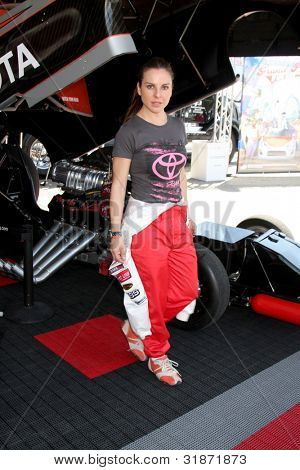 LOS ANGELES - APR 3:  Kate del Castillo at the 2012 Toyota Pro/Celeb Race Press Day at Toyota Long Beach Grand Prix Track on April 3, 2012 in Long Beach, CA