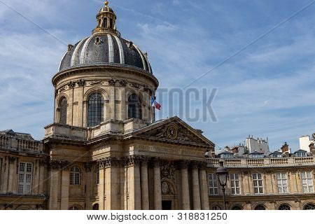 French Institute - Institute De France At Day Paris, France