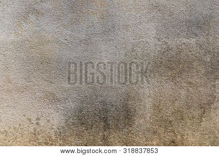 Concrete Texture Or Concrete Background. Concrete Wall For Interiors Or Outdoor Exposed Surface Poli