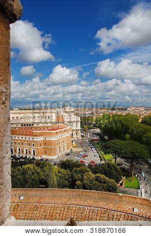 Rome Historic Center View