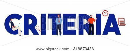 Criteria Word Recruitment Or Selection Factors Considered To Make Decision In Business Office Corpor