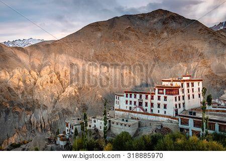 View Of Landscape Lamayuru Monastery In Leh, Ladakh, India