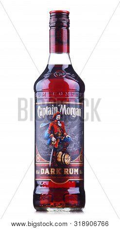 Poznan, Pol - Aug 21, 2019: Bottle Of Captain Morgan, A Brand Of Rum Originated On Us Virgin Islands