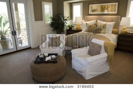 Stylish Luxury Bedroom.