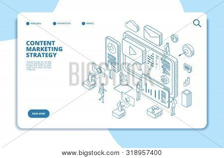 Content Marketing Landing Page. Online Contents Creation Specialist, Video Marketers And Writers. B2