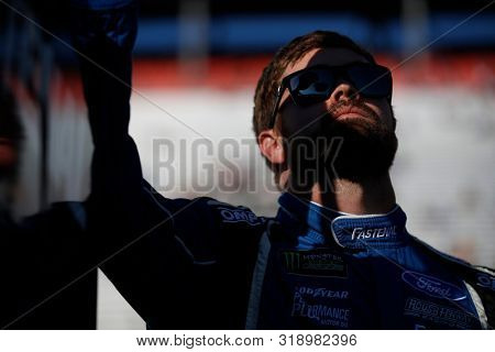 August 16, 2019 - Bristol, Tennessee, USA: Ricky Stenhouse, Jr (17) gets ready to qualify for the Bass Pro Shops NRA Night Race at Bristol Motor Speedway in Bristol, Tennessee.