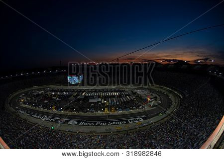 August 17, 2019 - Bristol, Tennessee, USA: Bristol Motor Speedway plays host to the Bass Pro Shops NRA Night Race in Bristol, Tennessee.