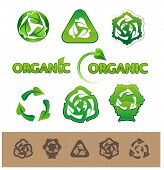 Recycle Symbols poster