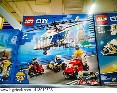 Construction Set Lego City Police Police Helicopter Chase 60243 In The Hypermarket For Sale On 11.04