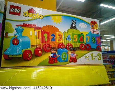 Lego Duplo My First Train Of Numbers 10847 Learning And Counting Set Trains Building Set And Educati