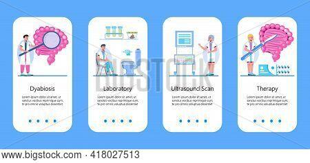 Proctologist Concept Vector For Medical Web, App, Blog, Mobile Website. Intestine Doctors Examine, T