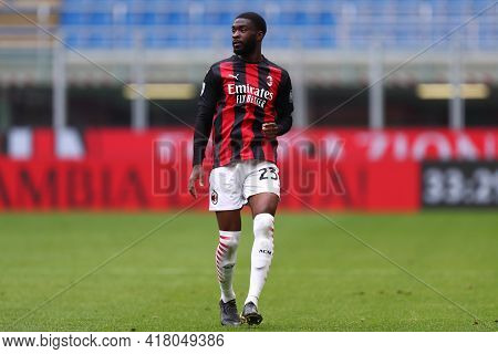 Milano, Italy. 18th April 2021. Fikayo Tomori Of Ac Milan  During The Serie A Match Between Ac Milan