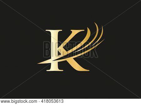 Premium K Logo Design, K Letter Logo With Modern Trendy. K Logo Design