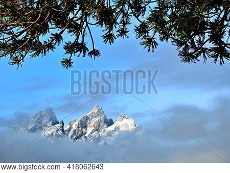 Grand Tetons, Grand Teton National Park, Wyoming.