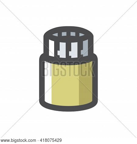 Reinforced Pipe Pile Foundation Vector Icon Cartoon Illustration