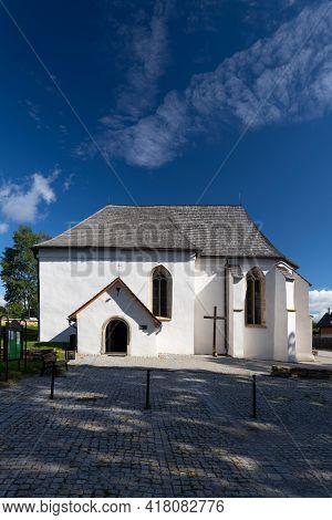 Church in Strazky near Spiska Bela, Slovakia